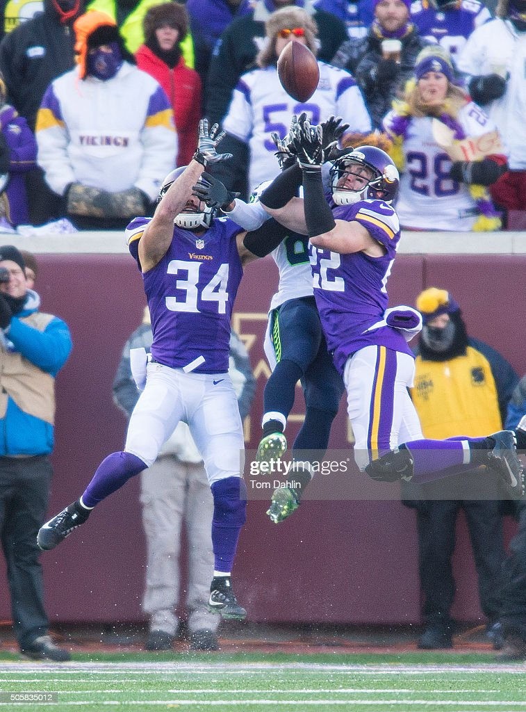 Seattle Seahawks v Minnesota Vikings : News Photo