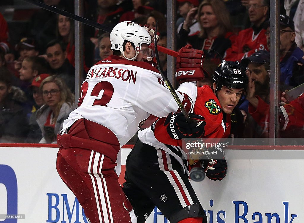 Arizona Coyotes v Chicago Blackhawks