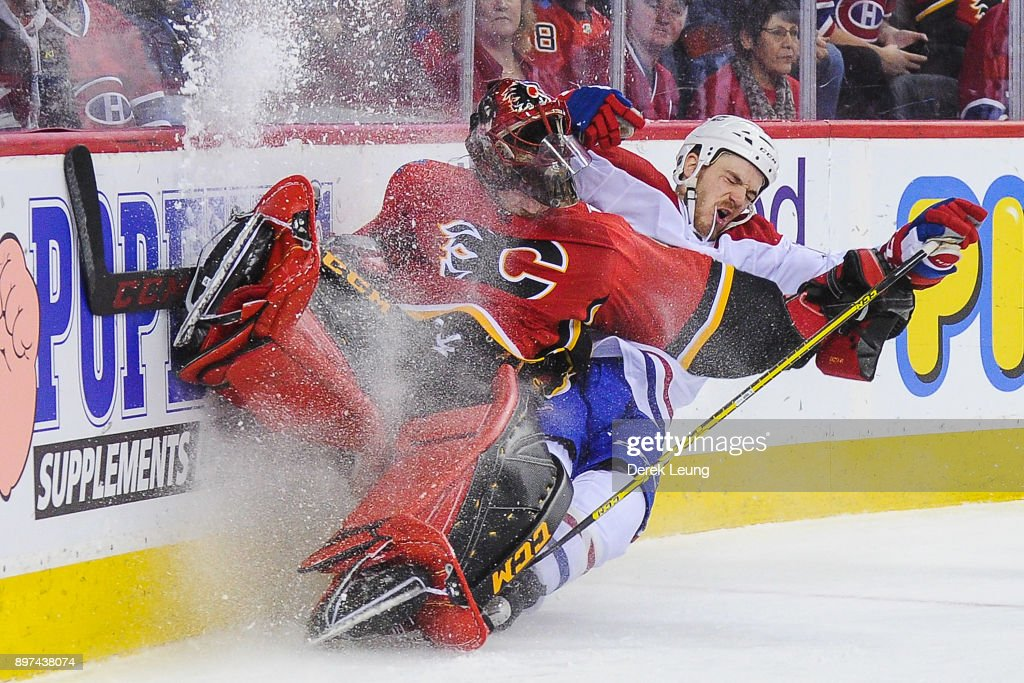 Montreal Canadiens v Calgary Flames