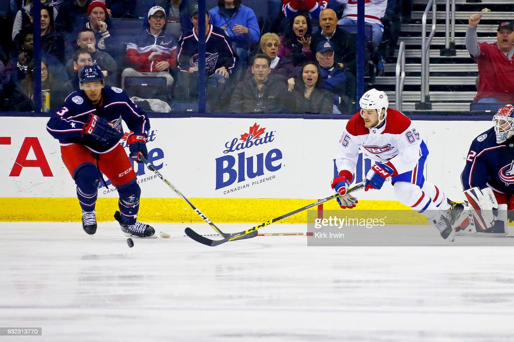 Montreal Canadiens v Columbus Blue Jackets : News Photo