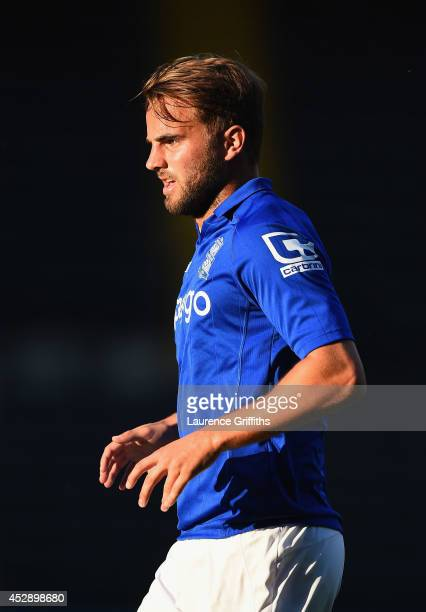 Andrew Shinnie of Birmingham City in action during the Pre Season Friendly match between Notts County and Birmingham City at Meadow Lane on July 29...