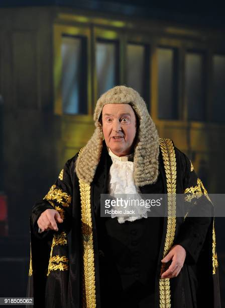 Andrew Shore As The Lord Chancellor in English National Opera's production of Gilbert and Sullivan's Iolanthe directed by Cal McCrystal and conducted...