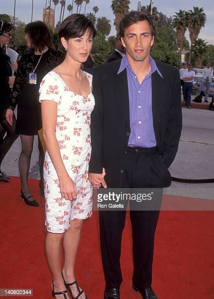 Andrew Shue and Jennifer Hageney at the 3rd Annual Blockbuster Entertainment Awards Pantages Theatre Hollywood