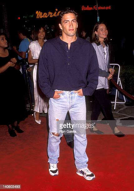 Andrew Shue at the Premiere of 'Under Seige' Mann Village Theatre Westwood
