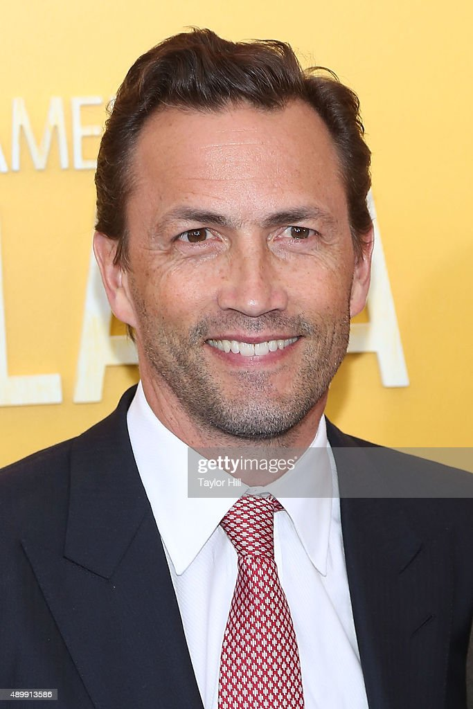 Andrew Shue attends the 'He Named Me Malala' premiere at Ziegfeld Theater on September 24, 2015 in New York City.