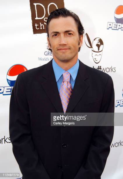 Andrew Shue cofounder during The 2005 Do Something BRICK Awards Arrivals at Capitale in New York City New York United States