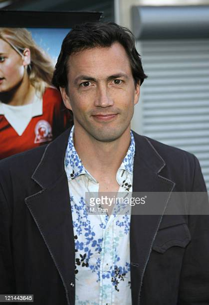 Andrew Shue during 'Gracie' Los Angeles Premiere Arrivals at The ArcLight in Hollywood California United States