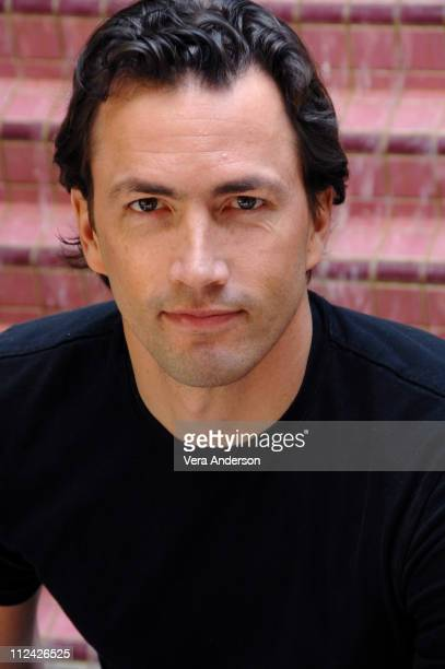 Andrew Shue during 'Gracie' Press Conference with Carly Schroeder Dermot Mulroney Elisabeth Shue Andrew Shue and Davis Guggenheim at Four Seasons...