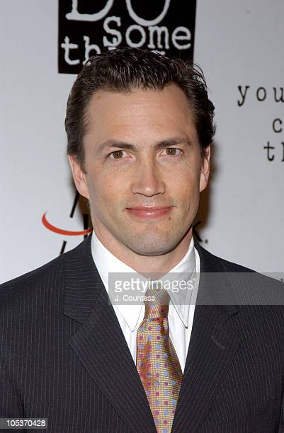 Andrew Shue during The 2004 Do Something BRICK Awards Arrivals at Metropolitan Pavilion in New York City New York United States
