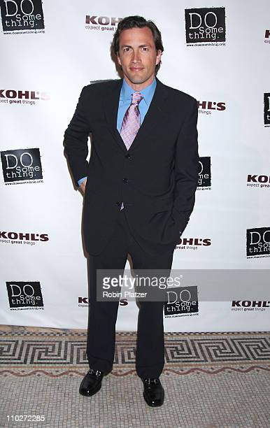 Andrew Shue during The 2006 Do Something Brick Award Honoring Young Change Makers Sponsored by Kohls at Capitale in New York New York United States
