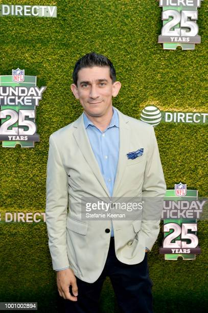 Andrew Siciliano attends DIRECTV CELEBRATES 25th Season of NFL SUNDAY TICKET at Nomad Hotel Los Angeles on July 17 2018 in Los Angeles California