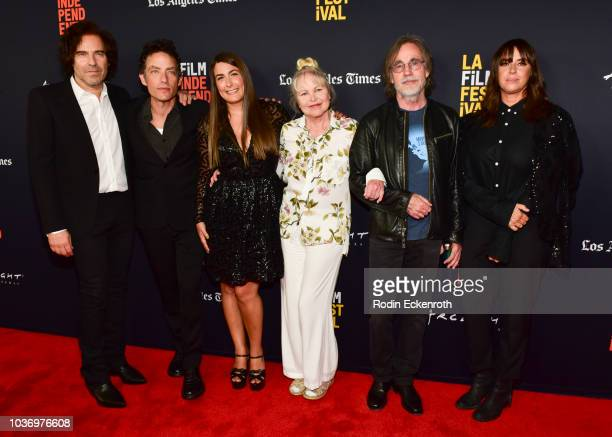 Andrew Slater Jakob Dylan Jade Castrinos Michelle Phillips Jackson Browne and Cat Power attend the 2018 LA Film Festival Opening Night premiere of...