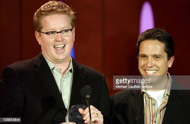 Andrew Stanton and Lee Unkrich during 9th Annual Critics' Choice Awards Audience and Show at The Beverly Hills Hotel in Beverly Hills California...
