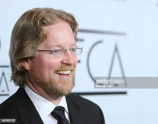 Andrew Stanton arrives to the 34th Annual Los Angeles Film Critics Association Awards held at the InterContinental Los Angeles Hotel on January 12...