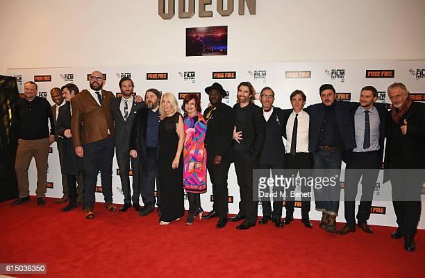 Andrew Starke, Patrick Bergin, Sam Riley, Tom Davis, Armie Hammer, director Ben Wheatley, BFI CEO Amanda Nevill, Clare Stewart, Director of the BFI...