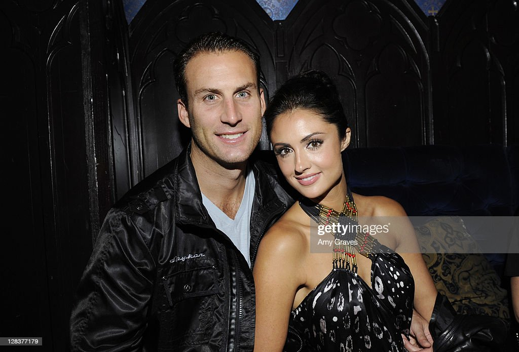 Andrew Stern and Katie Cleary attend the 'PayDay The Heist' Video Game Launch Event With Sony Online Entertainment And Overkill Software With Equilibrium Entertainment at House of Blues Sunset Strip on October 6, 2011 in West Hollywood, California.