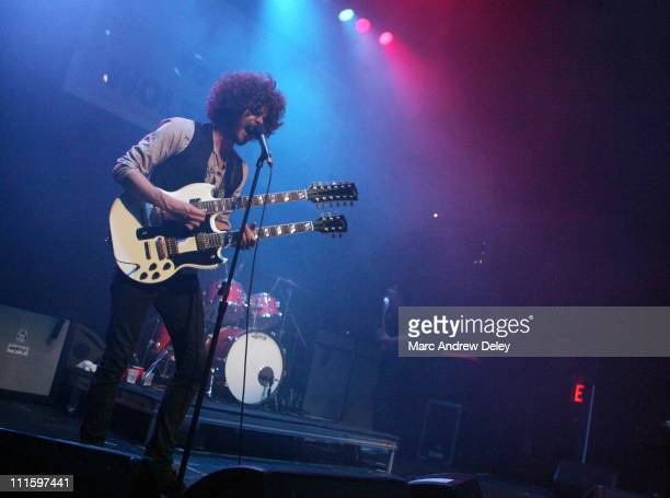 Andrew Stockdale of Wolfmother during Wolfmother Perform Live at Grand Opening of Blender Theater at Gramercy at Gramercy Theater in New York, New...