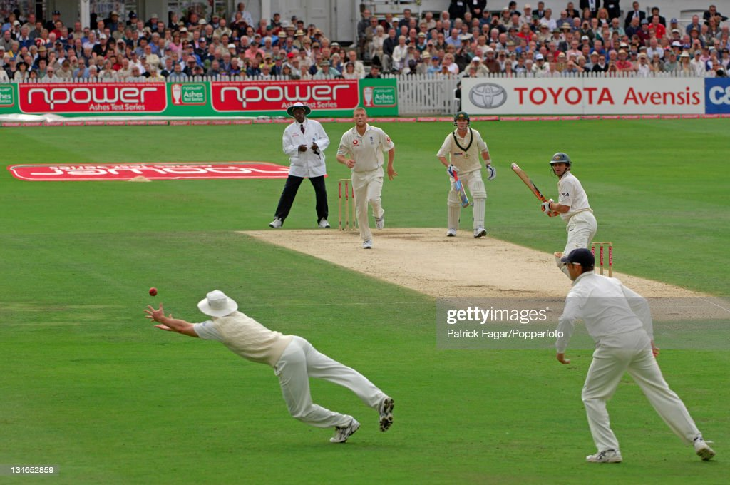 England v Australia, 4th Test, Trent Bridge, August 2005 : News Photo