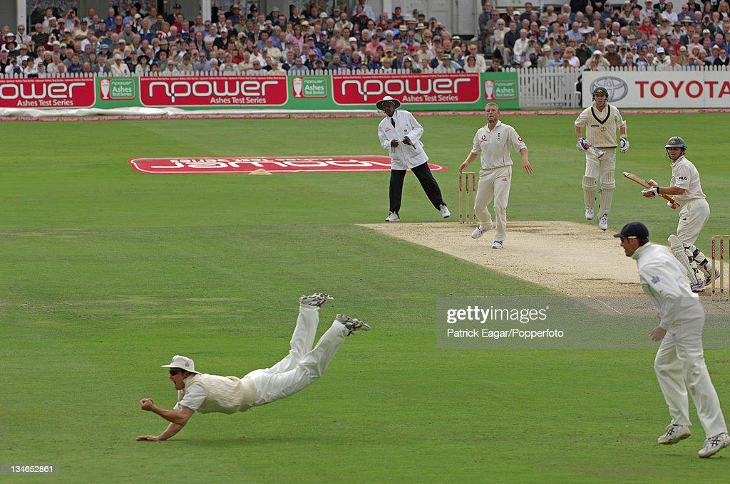 England v Australia, 4th Test, Trent Bridge, August 2005 : News Photo
