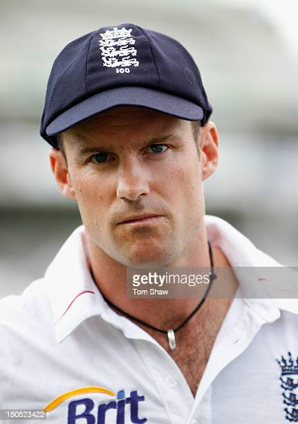 Andrew Strauss of england looks on dejected after losing the match during day 5 of the 3rd Investec Test Match between England and South Africa at...