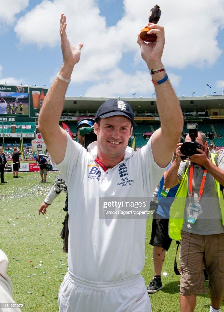 Australia v England , 5th Test, Sydney, January 2010-11 : News Photo
