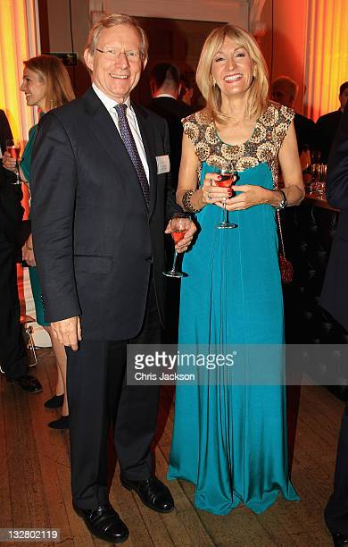 Andrew Summers and Chief Executive of Walpole Julia Carrick attend the Walpole Awards of Excellence 2011 at Banqueting House on November 14 2011 in...