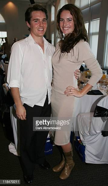 Andrew Supanz and Jolene Anderson during 2007 TV WEEK Logie Awards Nominations Media Call at The Crystal Ballroom Luna Park in Sydney NSW Australia