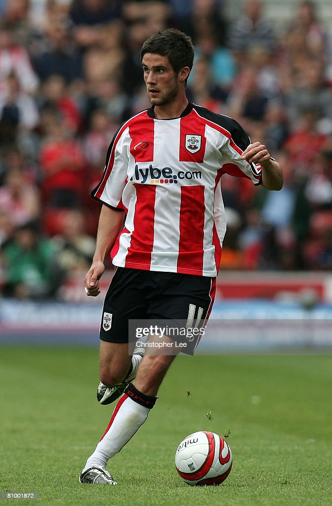 Andrew Surman of Southampton in action during the Coca-Cola Championship match between Southampton and Sheffield United at St Mary's Stadium on May 4, 2008 in Southampton, England.
