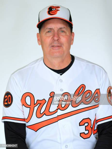 Andrew Susac of the Baltimore Orioles poses for a portrait during photo day at Ed Smith stadium on February 20 2019 in Sarasota Florida