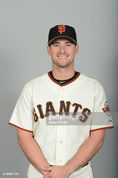 Andrew Susac of the San Francisco Giants poses during Photo Day on Sunday February 28 2016 at Scottsdale Stadium in Scottsdale Arizona