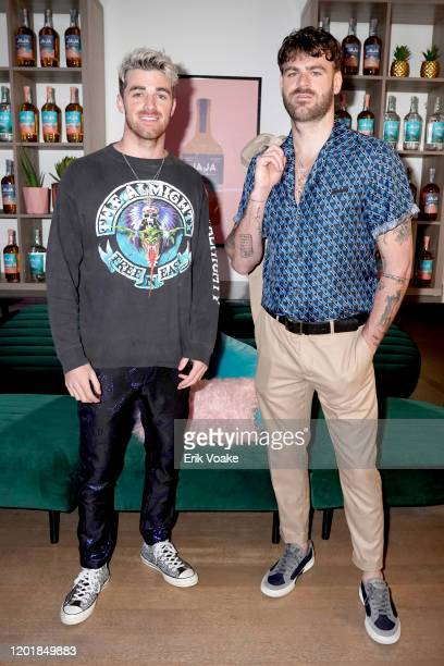Andrew Taggart and Alex Pall as JAJA Tequila Presents The Party For No Reason on January 24 2020 in Los Angeles California
