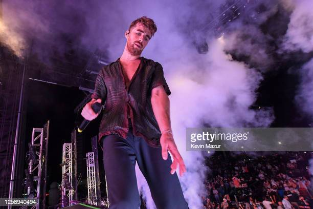 Andrew Taggart of The Chainsmokers perform during the 'Safe & Sound' Drive-In Concert Fundraiser Presented by JAJA Tequila and In The Know...