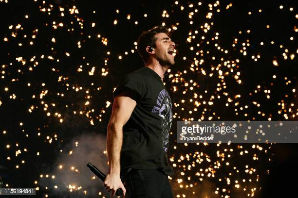Andrew Taggart of The Chainsmokers performs during 2019 1035 KTU KTUphoria presented by Pepsi at Northwell Health at Jones Beach Theater on June 15...
