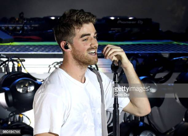 Andrew Taggart of The Chainsmokers performs live exclusively for American Airlines AAdvantage Mastercard cardmembers at The Fillmore Philadelphia on...