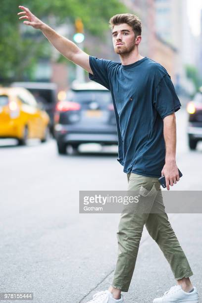 Andrew Taggert of the Chainsmokers is seen in the East Village on June 18 2018 in New York City