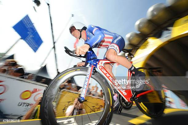 Andrew Talansky of Team Cannondale-Garmin competes during Stage One of the Tour de France on Saturday 04 July 2015, Utrecht, The Netherlands.