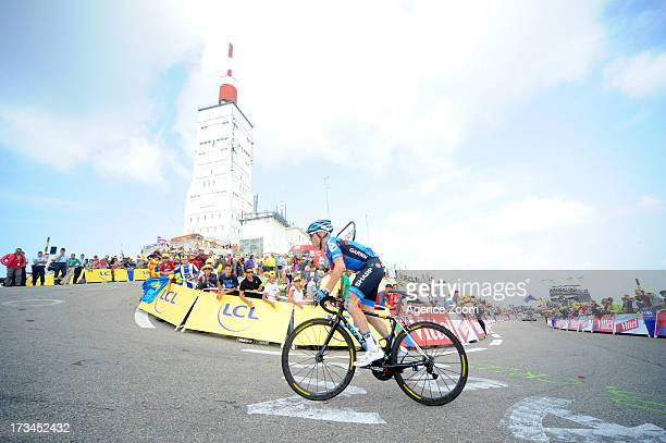 Andrew Talansky of Team GarminSharp during Stage 15 of the Tour de France on Sunday 14 July Givors to Mont Ventoux France