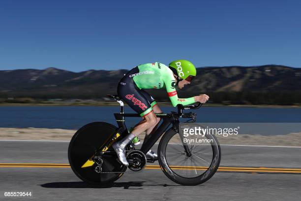 Andrew Talansky the USA and CannondaleDrapac Pro Cycling in action during stage 6 of the AMGEN Tour of California a 149 mile individual time trial...