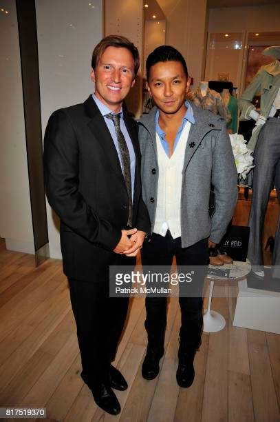 Andrew Taylor and Prabal Gurung attend Ann Taylor Flatiron Store Opening at Ann Taylor NYC on December 2 2010 in New York City