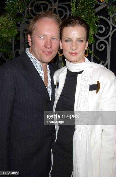 Andrew Taylor and Rachel Griffiths during HBO's 'Six Feet Under' Third Season World Premiere at Loews Kips Bay in New York City New York United States