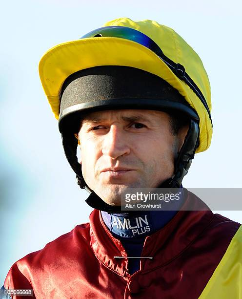 Andrew Thornton at Worcester racecourse on October 07 2010 in Worcester England