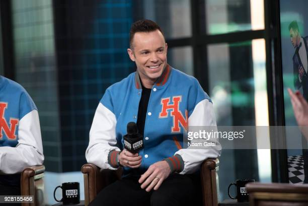 Andrew Tierney of Human Nature visits Build Series to discuss 'Human NatureJukebox In Concert at the Venetian' at Build Studio on March 6 2018 in New...