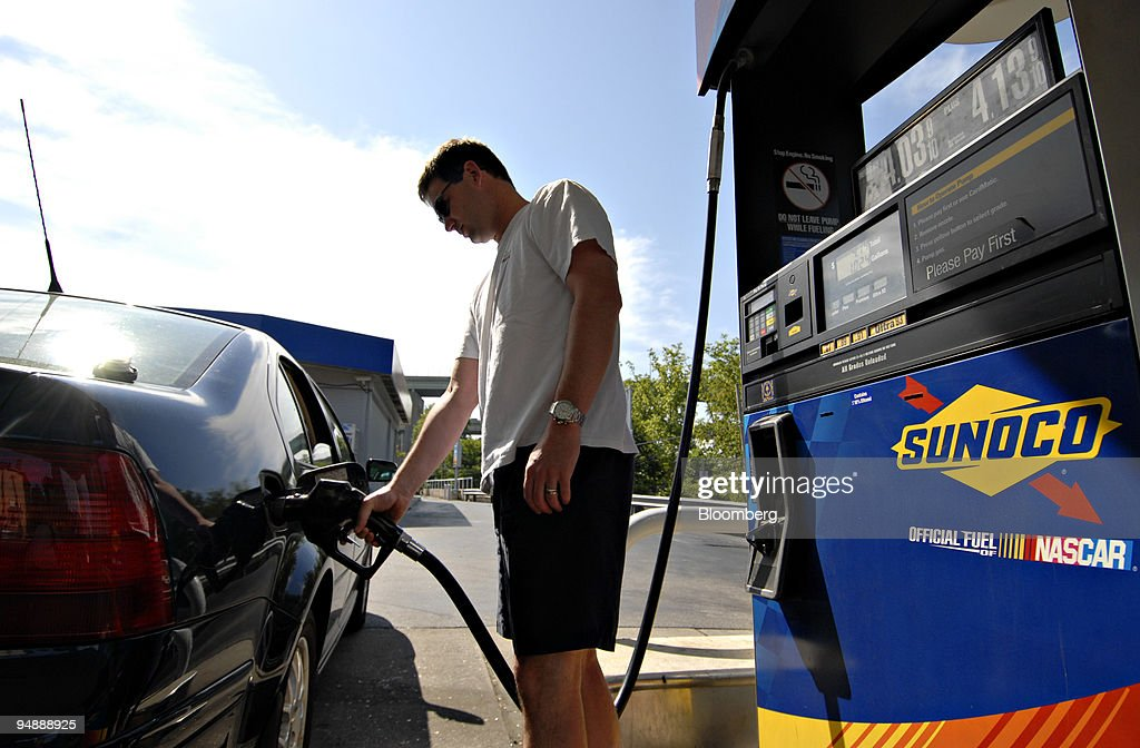 Sunoco Gas Station Near Me >> Andrew Toland Pumps Gas Into His Car At A Sunoco Gas Station In