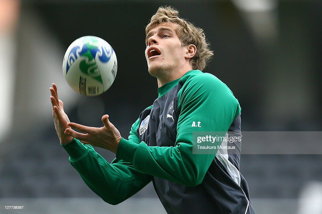Ireland IRB RWC 2011 Captain's Run