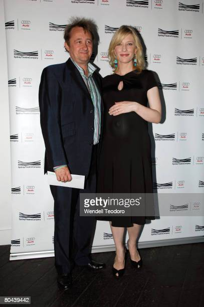 Andrew Upton Actress Cate Blanchett attends the premiere of The Year of Magical Thinking at the Sydney Theatre Company on March 29 2008 in Sydney...