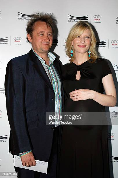 Andrew Upton and Actress Cate Blanchett attends the premiere of The Year of Magical Thinking at the Sydney Theatre Company on March 29 2008 in Sydney...