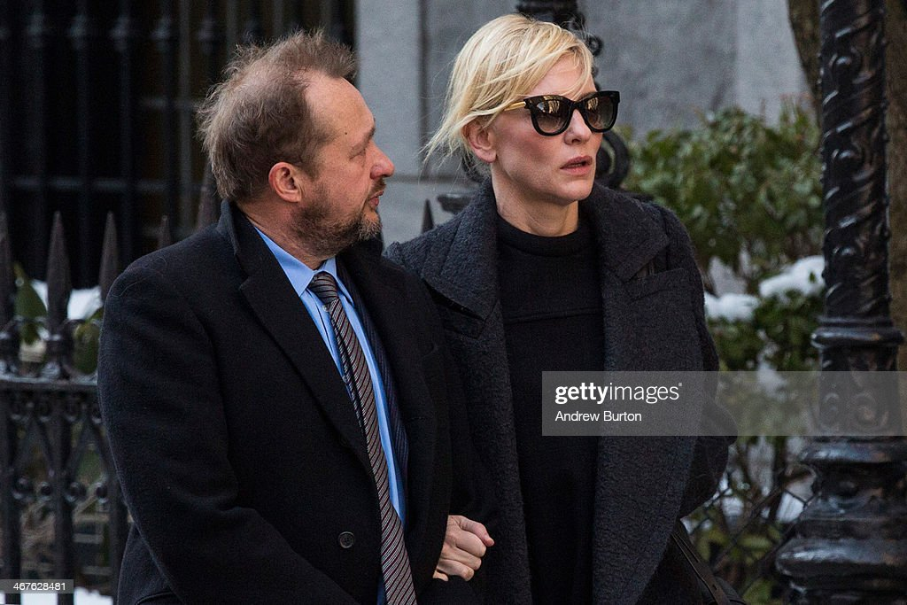 Philip Seymour Hoffman's Funeral Service : News Photo