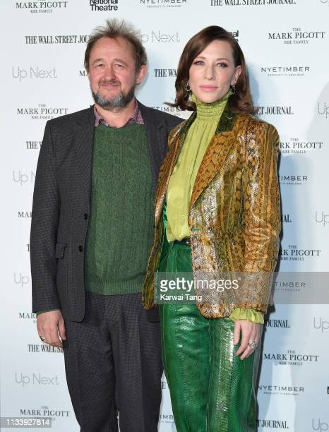 Andrew Upton and Cate Blanchett attend the 'Up Next Gala' at The National Theatre on March 05 2019 in London England