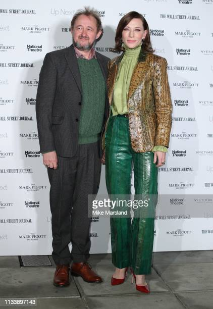 Andrew Upton and Cate Blanchett attends the 'Up Next Gala' at The National Theatre on March 05 2019 in London England