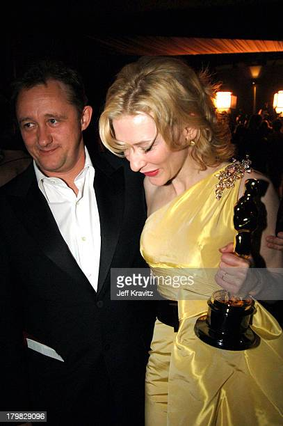 Andrew Upton and Cate Blanchett during The 77th Annual Academy Awards Governors Ball at Kodak Theatre in Los Angeles California United States